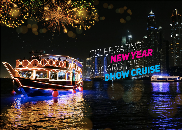 New Year eve at Dhow