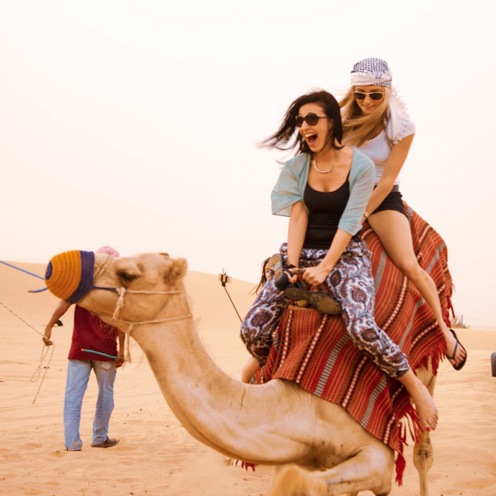 Camel Ride in desert safari