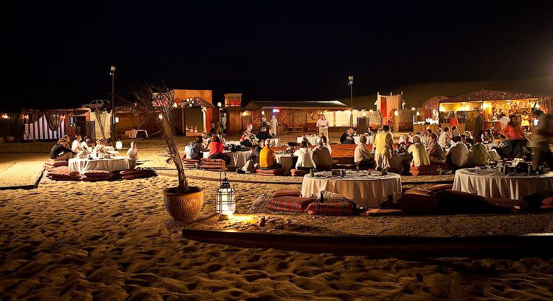 Desert safari with BBQ dinner