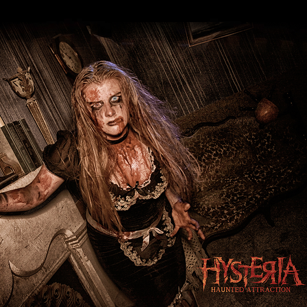 Hysteria Haunted Ticket
