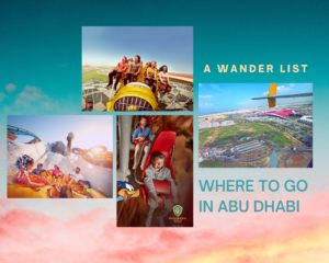 Mega Attractions In Yas Island